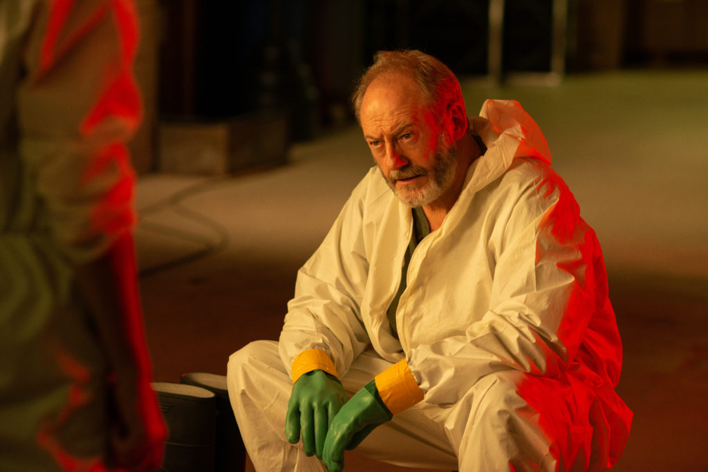 Wade Carter (Liam Cunningham), an Ebola expert and former professor and mentor to Dr. Nancy Jaxx at the Reston Monkey Facility. (National Geographic/Amanda Matlovich)